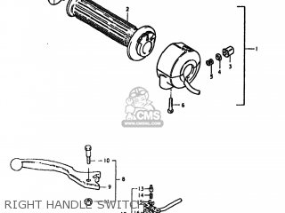 Suzuki Gs550l 1980 (t) Usa (e03) parts list partsmanual