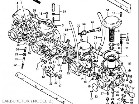Suzuki Gs550l 1981 (x) Usa (e03) parts list partsmanual
