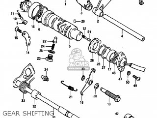 Suzuki GS550L 1983 (D) USA (E03) parts lists and schematics