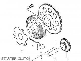Suzuki GS550L 1983 (D) USA (E03) parts lists and schematics