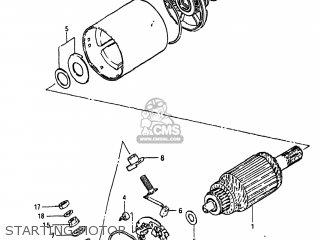 Suzuki Gs550l 1983 (d) Usa (e03) parts list partsmanual