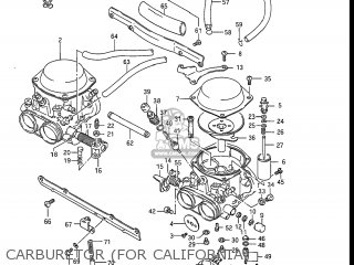 Suzuki Gs550l 1985 (f) Usa (e03) parts list partsmanual