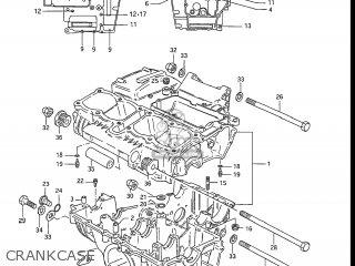 Suzuki GS550L 1985 (F) USA (E03) parts lists and schematics