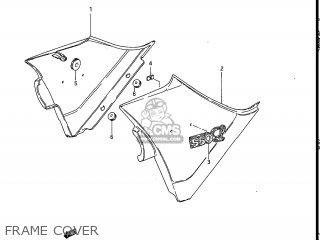 Suzuki Gs550l 1985 (f) Usa (e03) parts list partsmanual