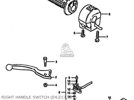 Suzuki GS550M 1981 (X) (E02 E04 E06 E22 E24 E34) parts