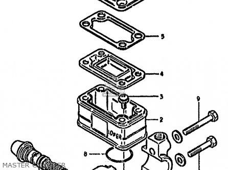 Suzuki Gs550m 1982 (z) (e02 E04 E06 E22 E24 E25 E34) parts