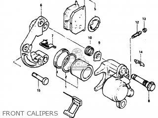 Suzuki GS550M 1982 (Z) USA (E03) parts lists and schematics