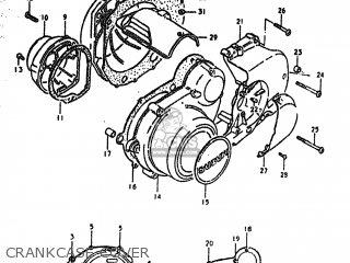 Suzuki Gs550t 1981 (x) Usa (e03) parts list partsmanual