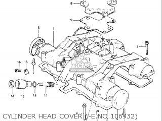 Suzuki Gs650e 1981-1982 (usa) parts list partsmanual