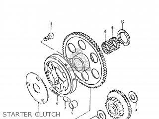 Suzuki GS650E 1981 (X) USA (E03) parts lists and schematics