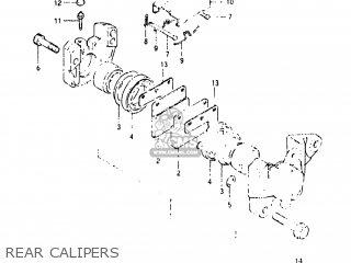 Suzuki GS650E 1982 (Z) USA (E03) parts lists and schematics