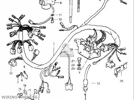 Suzuki Gs 850 G Wiring Diagram Suzuki Gs 650 G Wiring