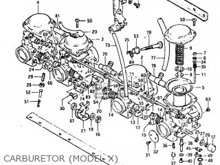 Suzuki Gs650g 1981 (x) Usa (e03) parts list partsmanual
