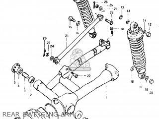 Suzuki GS650G 1981 (X) USA (E03) parts lists and schematics