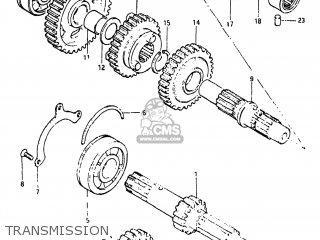 Suzuki Gs650g 1981 (x) Usa (e03) parts list partsmanual