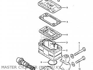 Suzuki GS650G 1982 (Z) USA (E03) parts lists and schematics