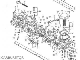 Suzuki GS650G 1983 (D) USA (E03) parts lists and schematics