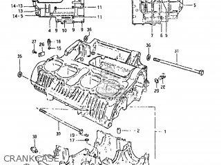 Suzuki Gs650gl 1981 (x) Usa (e03) parts list partsmanual