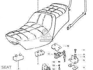 Suzuki GS650GL 1981 (X) USA (E03) parts lists and schematics