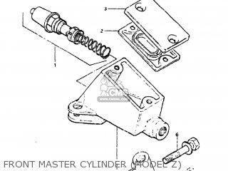 Suzuki GS650GL 1982 (Z) USA (E03) parts lists and schematics