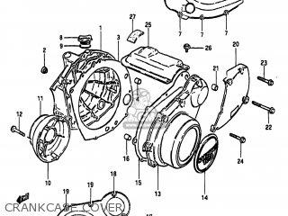 Suzuki Gs650gl 1983 (d) Usa (e03) parts list partsmanual