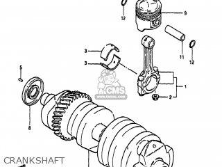 Suzuki GS650GL 1983 (D) USA (E03) parts lists and schematics