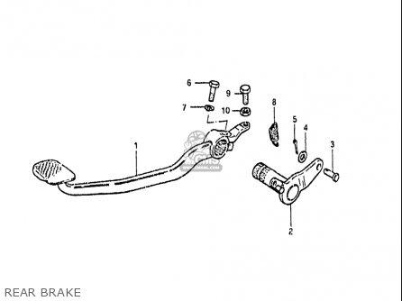 Suzuki Gs650gl 1983 (usa) parts list partsmanual partsfiche
