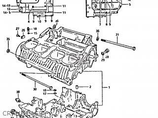 Suzuki GS650GT 1982 (Z) (E01 E02 E04 E15 E16 E17 E18 E21