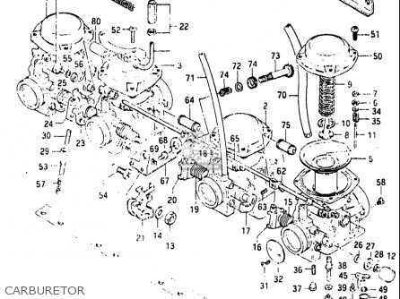 Suzuki Gs650m 1983 (usa) parts list partsmanual partsfiche