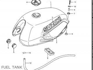 Suzuki GS700E 1985 (F) USA (E03) parts lists and schematics