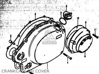 Suzuki Gs750 1977 (b) Usa (e03) parts list partsmanual
