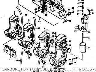 Suzuki Gs750 1978 (c) Usa (e03) parts list partsmanual
