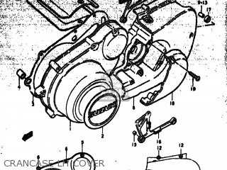 Suzuki GS750 1978 (C) USA (E03) parts lists and schematics