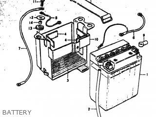 Suzuki GS750 1979 (N) USA (E03) parts lists and schematics