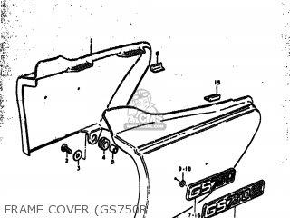Suzuki Gs750 1979 (n) Usa (e03) parts list partsmanual