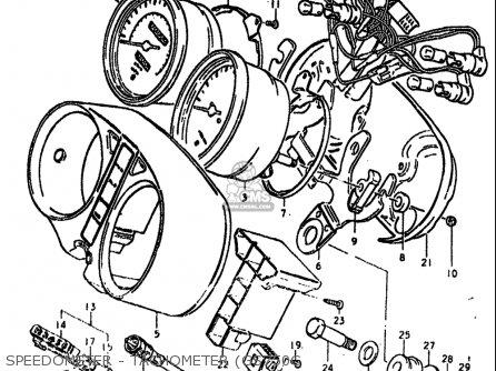 Suzuki Gs750 B,c,ec,n,en 1977-1979 (usa) parts list