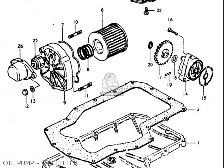 Suzuki Gs750 L 1980-1981 (usa) parts list partsmanual