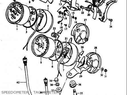 Suzuki Gs750 L 1980-1981 (usa) parts list partsmanual