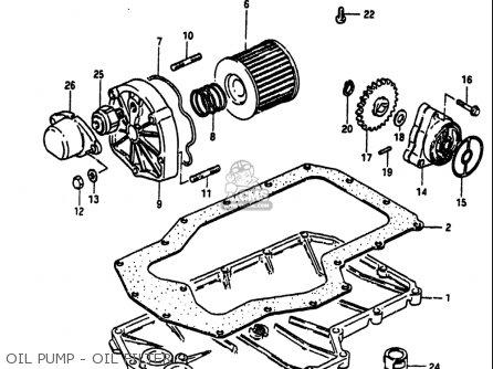 Suzuki Gs750 S 1983 (usa) parts list partsmanual partsfiche