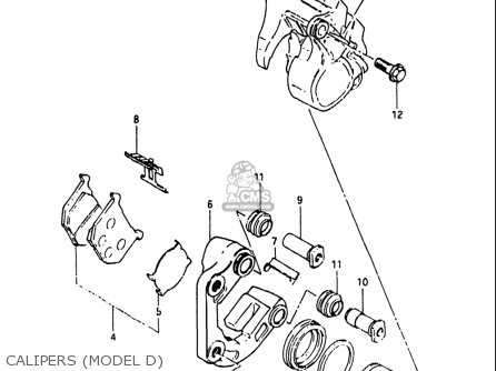 Suzuki Gs750 T 1982-1983 (usa) parts list partsmanual
