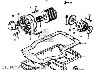 Suzuki Gs750a 1983 (d) Usa (e03) parts list partsmanual