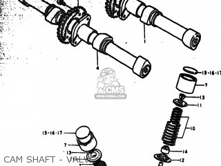 Suzuki Gs750b 1977 (b) Usa (e03) parts list partsmanual