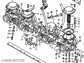 Suzuki Gs750e 1980 (t) Usa (e03) parts list partsmanual