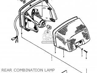 Suzuki GS750E 1980 (T) USA (E03) parts lists and schematics