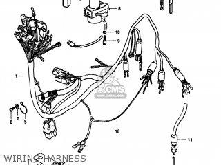 Suzuki GS750E 1981 (X) USA (E03) parts lists and schematics