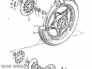 Suzuki Gs750e 1982 (z) Usa (e03) parts list partsmanual