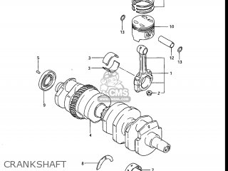 Suzuki GS750E 1983 (D) USA (E03) parts lists and schematics