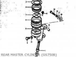 Suzuki GS750EC 1977 (B) USA (E03) parts lists and schematics