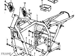 Suzuki Gs750l 1980 (t) Usa (e03) parts list partsmanual