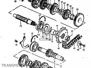Suzuki GS750L 1980 (T) USA (E03) parts lists and schematics